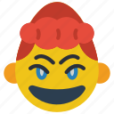 emojis, girl, happy, joy, laugh, lol, smile icon