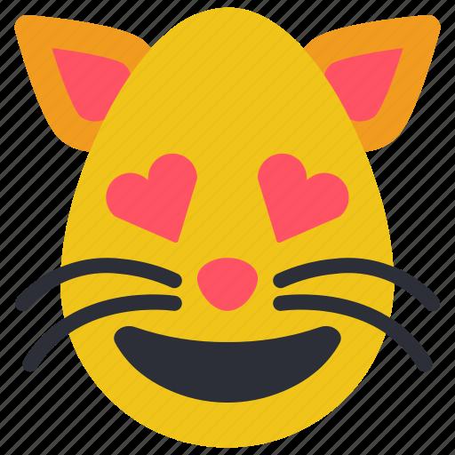 cat, emojis, first, hearts, kitten, kitty, love icon