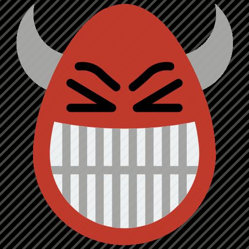 devil, emojis, emotion, first, satan, the icon