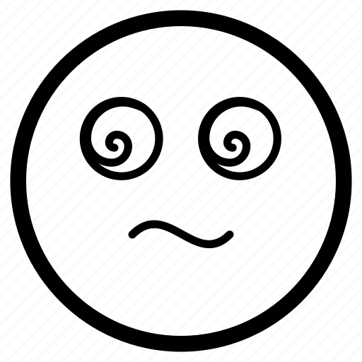 emoji, emoticon, hypnotize, hypnotized, trance icon
