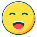 avatar, emoji, emoticon, face, fun icon