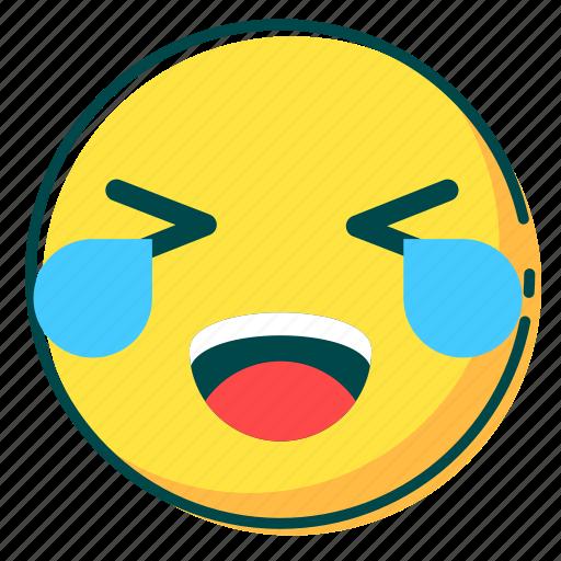 avatar, emoji, emoticon, face, joy icon
