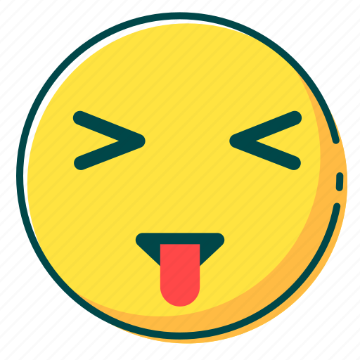 avatar, emoji, emoticon, face, tongue icon
