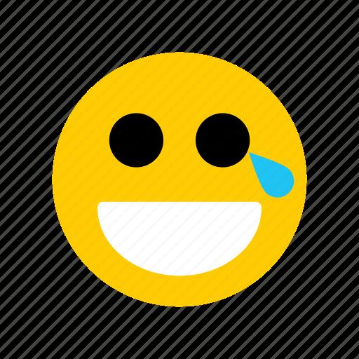 cartoon, emoji, emotion, expression, face icon