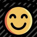emoji, expression, good, happy, kind, smile, smiley