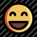 emoji, emotion, expression, face, feeling, happy, smile