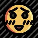 emoji, emoticon, emotion, expression, face, happy, smiley