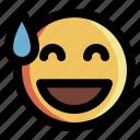 confused, emoji, emoticon, expression, face, smiley, upset