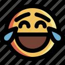 emoticon, expression, face, happy, laugh, lol, smiley