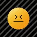 embarrassment, face, emoji, emoticons, expression, feeling