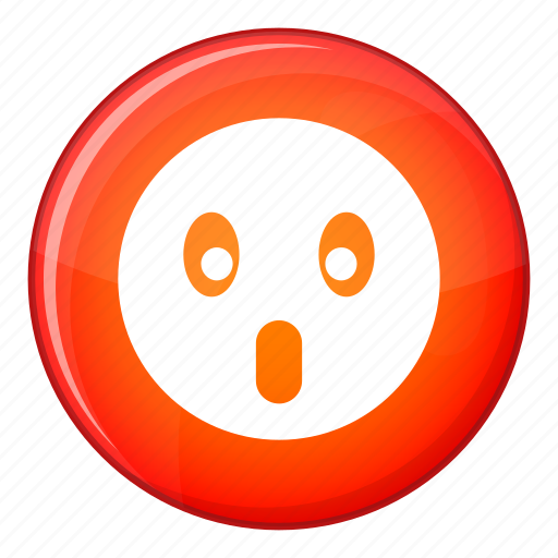 emoticon, expression, face, facial, frightened, open, smile icon