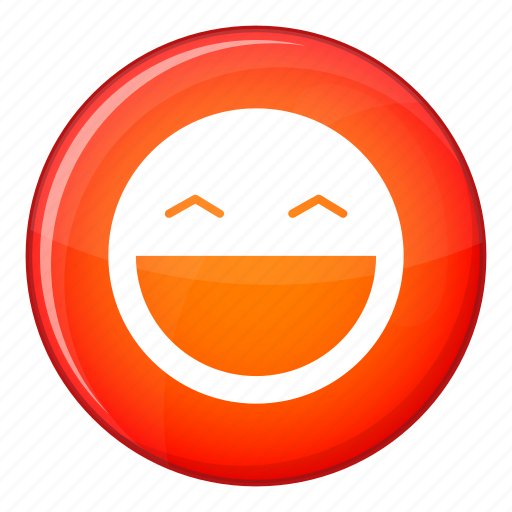 expression, face, facial, happy, laughing, open, smile icon