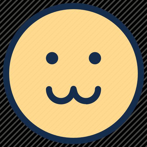cat, emoji, emoticon, emotion, face, happy icon