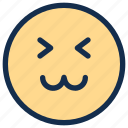 cat, cheerful, emoji, emoticon, emotion, face, happy