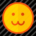 animal, baby, cat, catty, emoji, emoticon, expression icon