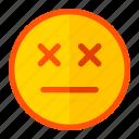 death, die, emoji, emoticon, expression, poison icon