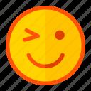 emoji, emoticon, expression, ok, okay, smile, smiley icon