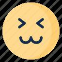 cat, cheerful, emoji, emoticon, emotion, face, happy icon