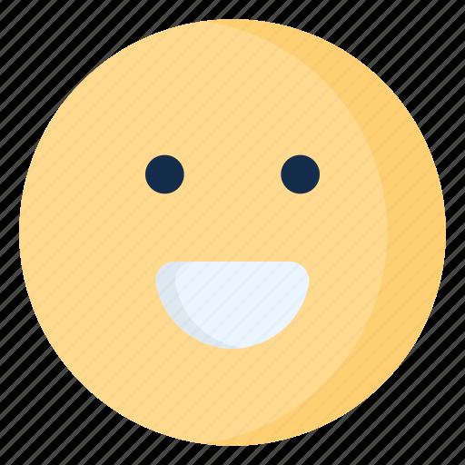 emoji, emoticon, emotion, happy, smile icon