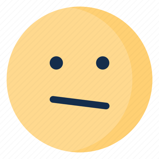 confused, emoji, emoticon, emotion, upset icon