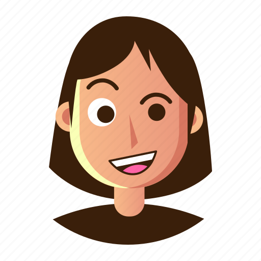 avatar, craze, emoticon, people, smiley, user, woman icon