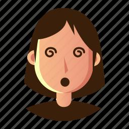 avatar, dzzy, emoticon, people, smiley, user, woman icon