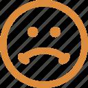 emoticons, face smiley, smiley, stare emoticon icon