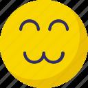 emoticons, face smiley, smiley, wink icon