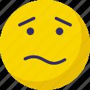 confused, emoticons, puzzle, sad icon