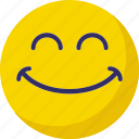 emoticons, laughing, smiley, smiling icon