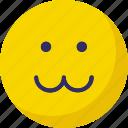 emoticons, sad, smiley, zig zag lip emoticon icon