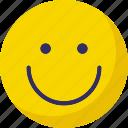 emoticons, happy, smile, smiley icon