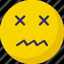 bad, bored, emoticon, error icon