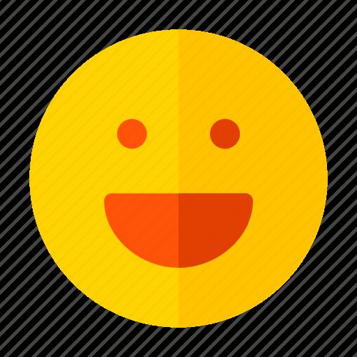 emoji, smile, smiley icon