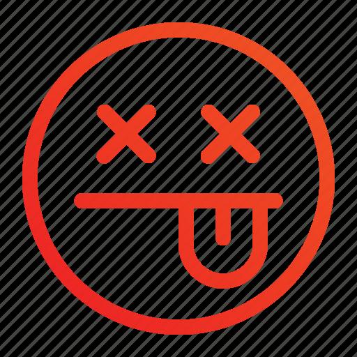 death, die, emoji, emoticon icon