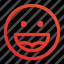 emoji, frendly, happy, smile