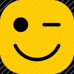 emoticon, emoticons, expression, smile, smiley icon
