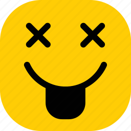 emoji, emoticon, emoticons, expression, mock icon