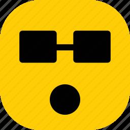 emoji, emoticon, emoticons, expression, shocked icon