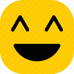 emoticon, expression, happy, smile, smiley icon