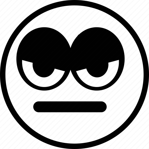 angry, emoticon, emotion, expression, face icon