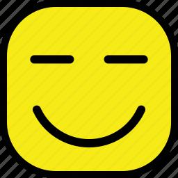 emoticon, emoticons, expression, face, smiley icon