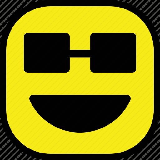 emoticon, expression, happy, smile, smiley icon