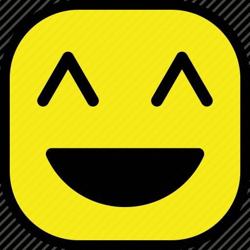 emoticon, emotion, face, smile, smiley icon