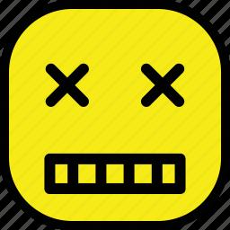 emoticon, emotion, expression, face, sad icon