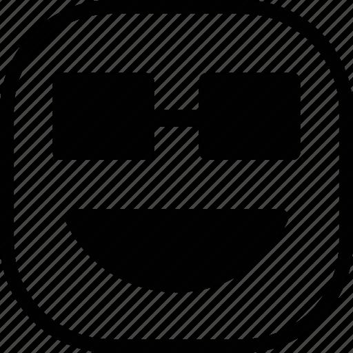 emoji, emoticon, expression, happy icon