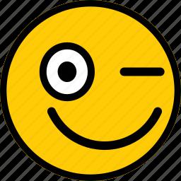 emoji, emoticon, emoticons, happy, smiley icon