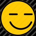 emoticon, emoji, expression, happy, smiley