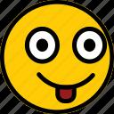emoticon, emoji, expression, face, smile, smiley