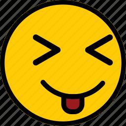 emoji, emoticon, expression, smile, smiley icon